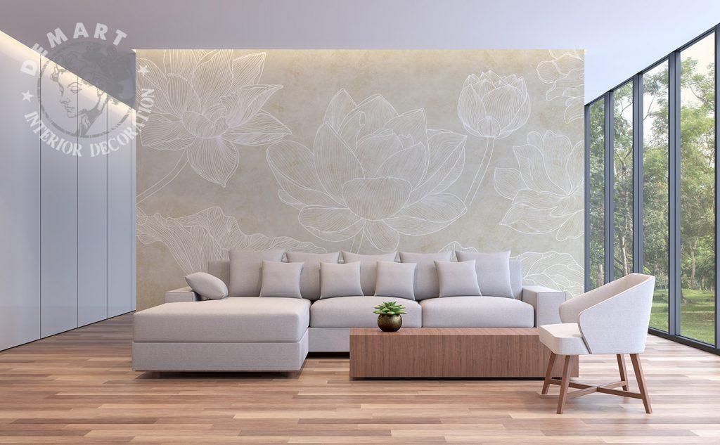 carta-parati-raffinata-rose-grandi-stilizzate-tratto-bianco-sfondo-scuro-cp152-soggiorno