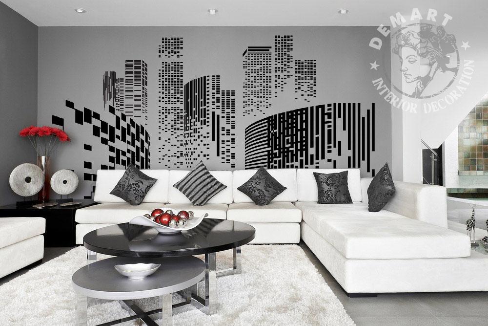 carta-parati-vettoriale-skyline-sfondo-grigio-soggiorno